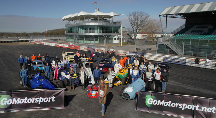 Women in motorsport visit Silverstone for International Women's Day