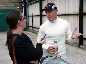 Racing driver Duncan Tappy is among our advisors. Here, Onlineability's Lisa Hutchins interviews Duncan for BritsOnPole.com