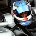 Daniel McKenzie at Silverstone in the F2 car